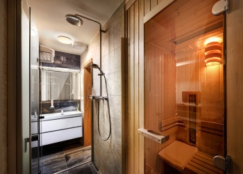 Enjoy private sauna